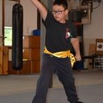 Lil' Dragon Gung Li CHuan Drills Test.