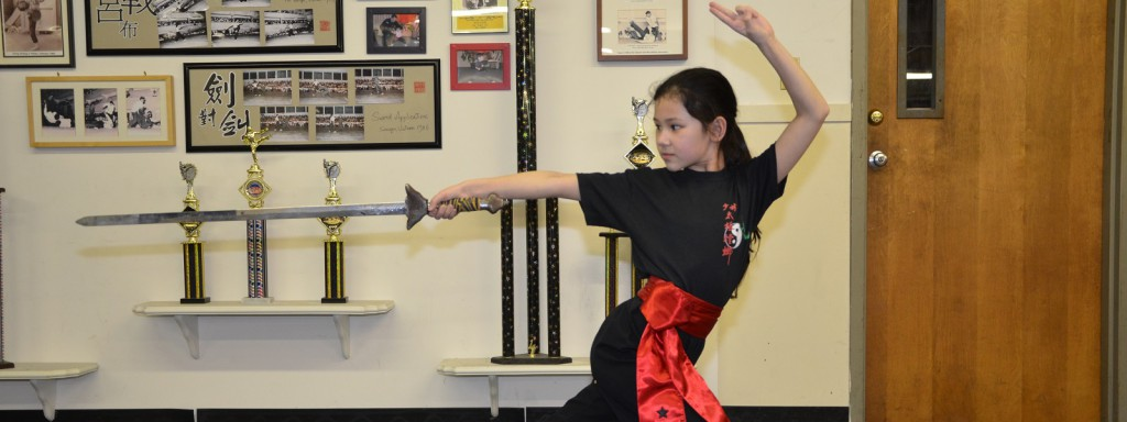 Straight Sword training