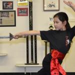 Straight Sword training